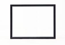 Черная картинная рамка Стоковое Фото