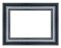 Черная картинная рамка Стоковое Изображение RF