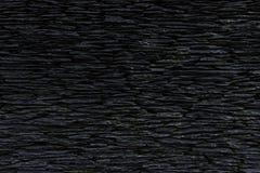 Черная кирпичная стена для предпосылки, текстуры кирпича Стоковые Фотографии RF