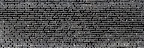 Черная кирпичная стена Стоковое фото RF