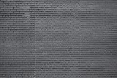 Черная кирпичная стена Стоковые Фотографии RF