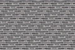 Черная кирпичная стена grunge Стоковая Фотография RF