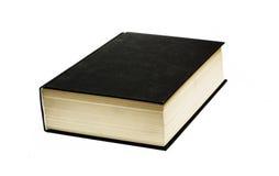 черная книга Стоковое Фото