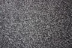Черная кожаная предпосылка Стоковое Фото