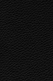 Черная кожаная предпосылка текстуры стоковое фото
