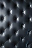 черная кожаная текстура Стоковое Изображение