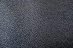 Черная кожаная текстура Стоковые Фото
