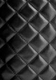 Черная кожаная текстура Стоковые Фотографии RF