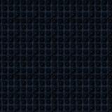 Черная кожа с картиной квадратной текстуры безшовной Стоковое Изображение