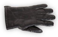 черная кожа для перчаток Стоковые Фото