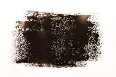 черная коричневая акварель Стоковое Изображение