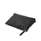 Черная косметическая изолированная сумка Стоковое Изображение