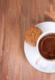 черная кофейная чашка Стоковое фото RF