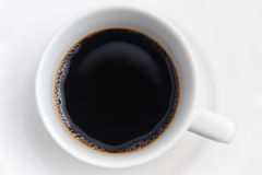 черная кофейная чашка Стоковые Фото