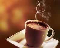 черная кофейная чашка Стоковые Изображения RF