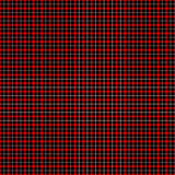 черная красная белизна tartan Стоковые Фотографии RF