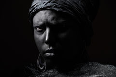 Черная красота стоковые изображения rf