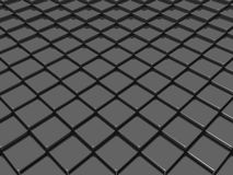 Черная крыша Стоковое фото RF