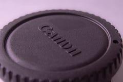 Черная крышка канона стоковая фотография