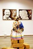 черная кукла Стоковая Фотография