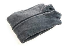 Черная куртка ватки стоковая фотография