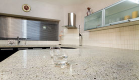 черная кухня Стоковое Изображение