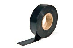 черная клейкая лента Стоковое фото RF