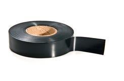 Черная клейкая лента Стоковая Фотография RF