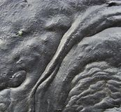 черная лава подачи любит отражательная смолка вещества Стоковые Изображения