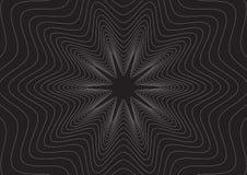 черная линия влияния Стоковое Фото