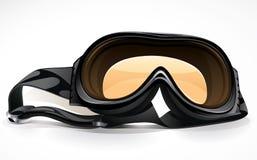 черная лыжа скуба маски Стоковые Изображения