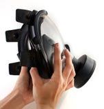 черная маска удерживания газа Стоковое Изображение