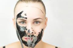 черная маска Стоковое Изображение RF