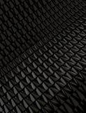 Черная металлическая предпосылка Стоковое фото RF