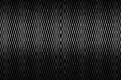Черная металлическая предпосылка картины текстуры решетки сота полигона стоковое фото