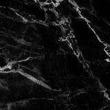 Черная мраморная естественная картина для предпосылки, абстрактных естественных мам Стоковая Фотография
