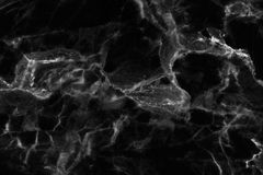 Черная мраморная текстура в естественном сделанном по образцу для предпосылки и дизайна Стоковые Изображения RF