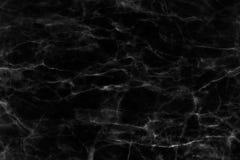 Черная мраморная текстура в естественном сделанном по образцу для предпосылки и дизайна Стоковые Фотографии RF