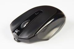 черная мышь компьютера оптически Стоковые Фото