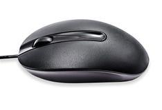 черная мышь компьютера Стоковое Изображение RF