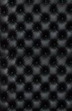 Черная неподдельная кожа Стоковые Фотографии RF