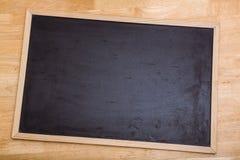 Черная доска мела с космосом экземпляра Стоковое Фото