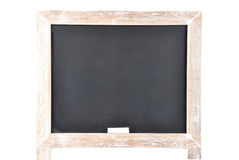 Черная доска на белой предпосылке Стоковые Изображения RF