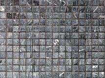 Черная пакостная стена Стоковое фото RF