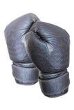 Черная перчатка бокса стоковые изображения rf