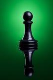 черная пешка стоковое изображение