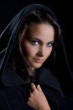черная повелительница плащи-накидк Стоковое фото RF