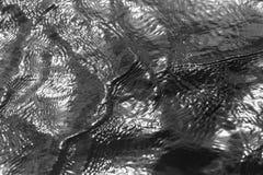 Черная поверхностная вода предпосылки Стоковая Фотография
