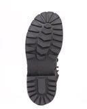 Черная подошва ботинка. Стоковое фото RF