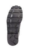 Черная подошва ботинка. Стоковое Изображение RF